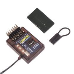 Lemon Rx Stabilizer 7-Ch. (End Pin) DSMP (DSMX /DSM2 compabtible) with Diversity Antenna
