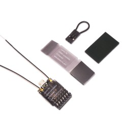 Lemon Rx DSMP (DSMX/DSM2 Compatible) 6-Channel Receiver with Diversity Antenna Top Pin