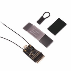 Lemon Rx DSMP (DSMX/DSM2 Compatible) 6-Channel Receiver with Diversity Antenna End Pin