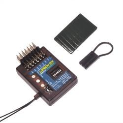 Lemon Rx Stabilizer PLUS 7-Ch. (End Pin) DSMP (DSMX /DSM2 compabtible) With Diversity Antenna