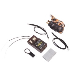 Lemon Rx DSMP (DSMX compatible) 7-Channel Full-Range Telemetry with diversity receiver (Energy Meter) DEAN Package