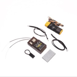 Lemon Rx DSMP (DSMX compatible) 7-Channel Full-Range Telemetry with diversity receiver (Energy Meter) XT60 Package