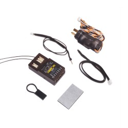Lemon Rx DSMP (DSMX compatible) 7-Channel Full-Range Telemetry with diversity receiver (Vario + Energy Meter + Altitude) T-Plug Package