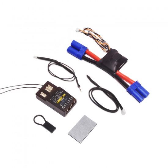 Lemon Rx DSMP (DSMX compatible) 7-Channel Full-Range Telemetry with diversity receiver (Vario + Energy Meter + Altitude) EC5 130A Package