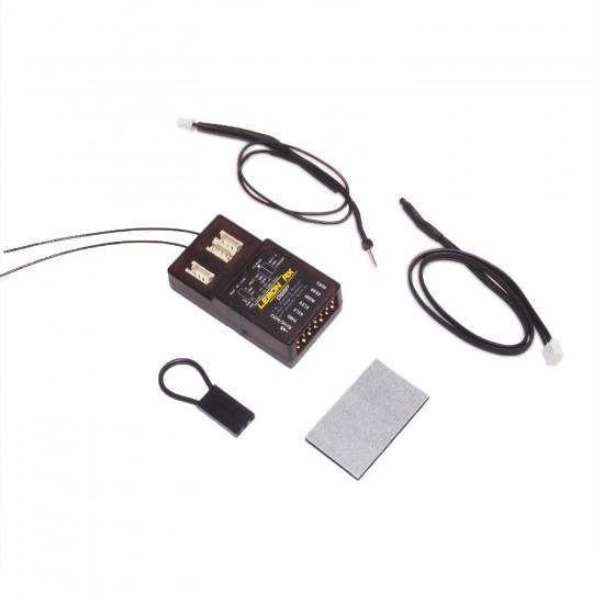 Lemon Rx DSMP (DSMX compatible) 7-Channel Full-Range Telemetry with diversity receiver (Vario + Altitude  included. Energy Meter Optional)
